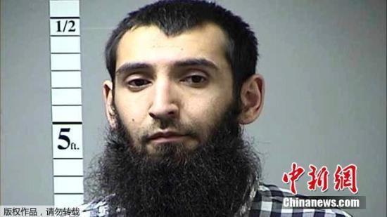 美檢方:曼哈頓恐襲嫌犯麵臨終身監禁或死刑