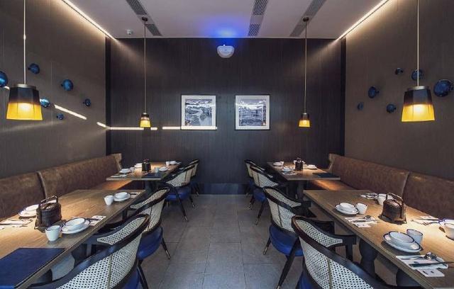 清新优雅的锦州风主题机械设计中国非标餐厅设计图片