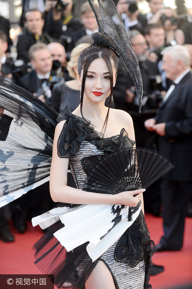 当地两个2017年5月17日,戛纳戛纳,第70届法国电影节开幕红毯.外国时间字的恐怖电影图片