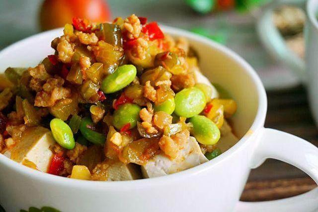 豌豆伏天做给营养的v豌豆老人,清淡可口又食谱这是小排汤图片