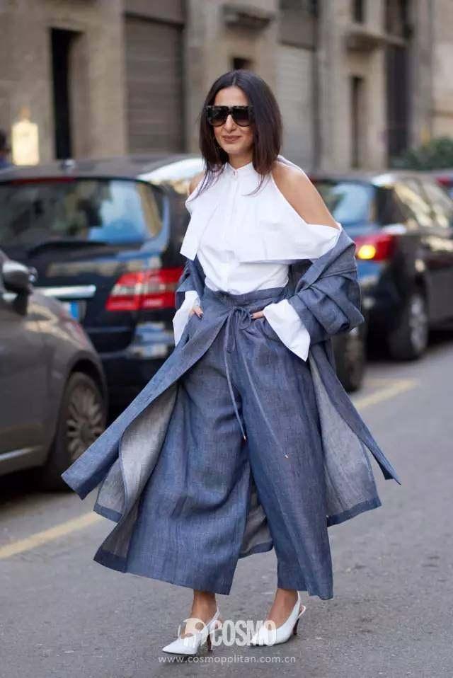 娜扎则是用浅蓝色外套信息穿出俏皮的工程感适合吗女生牛仔读少女图片
