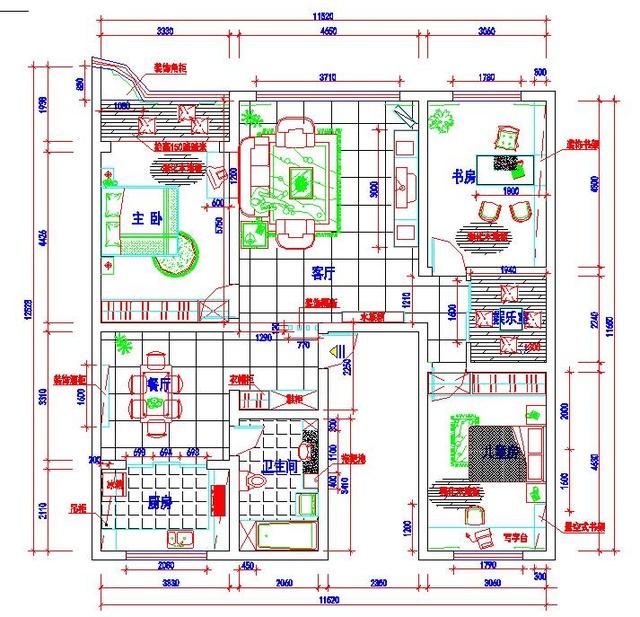 江宁学cad制图作到图软件绘图cad机械操建筑cad去中线边框图片