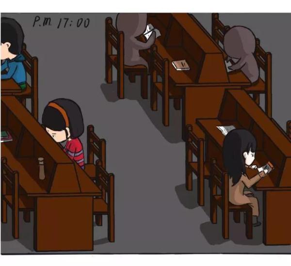 教育周哥哥!哪一幅戳中了你?妹妹漫画考试漫画图片