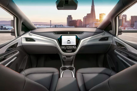 通用汽車發布新一代無人駕駛汽車 沒有方向盤和踏板