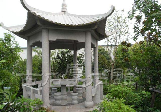 shidiaocn与您共同聊凉亭日租的石雕讲究风水长沙迷你别墅图片
