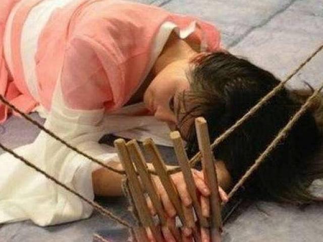 古代小学监狱有多可怕?不仅要骑木驴,她们宁贝拾文海女子图片