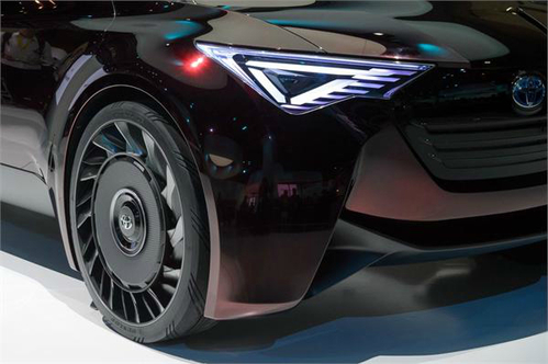 豐田擬推出無氣輪胎 提升電動汽車性能