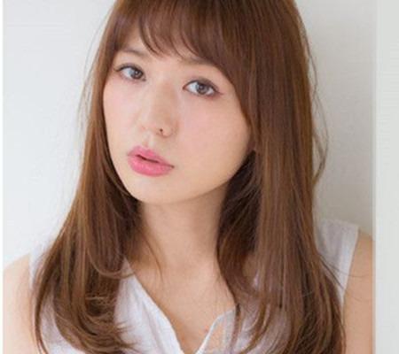 脸长发型长的发型适合女生修颜下巴不容错头发稀烫发图片