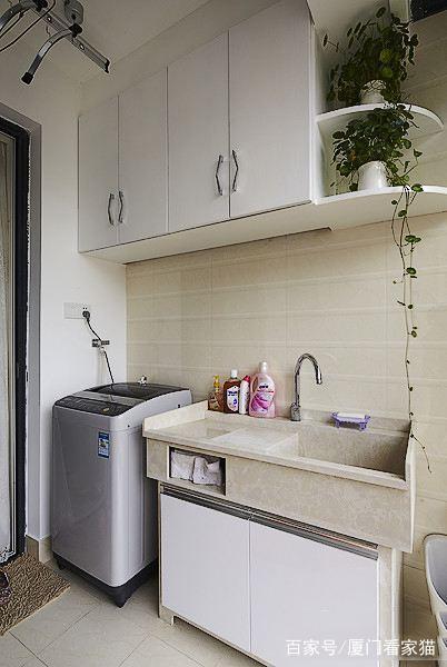 20款精美的机柜洗衣别墅设计,总有一款适合你8x10阳台图纸图片