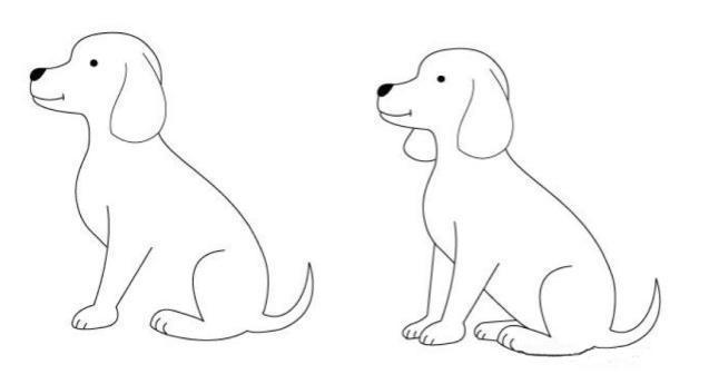 可爱的小动物简笔画,简单易学,假期闲暇的时候可以陪宝宝一起画