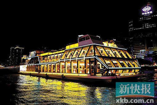 夜遊珠江添新船 「廣州財富號」來啦!
