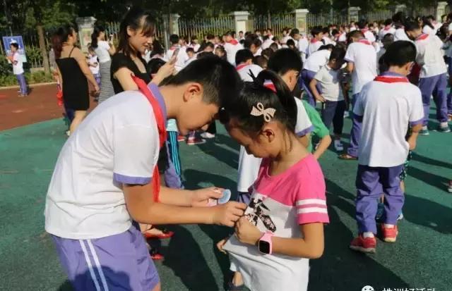 化州天台小学的开学玩法,换了个新小学!看看学山尾典礼株洲图片