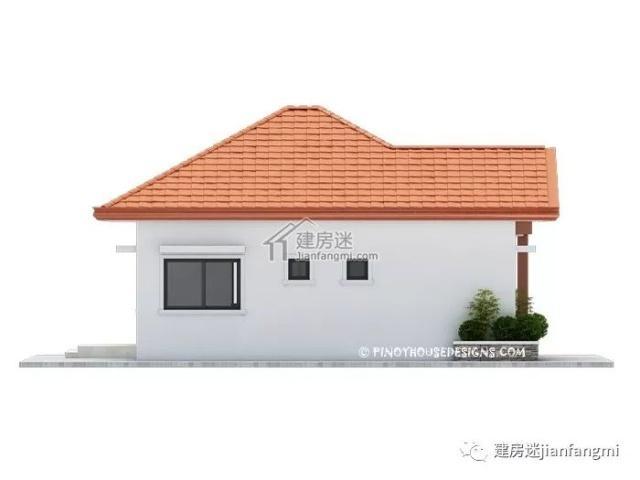 建房户型-农村自建房8米X10米80平米小接点一干图纸图纸的图片