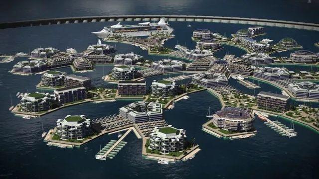 不是科幻小說:三年後,南太平洋會出現一座漂浮之城