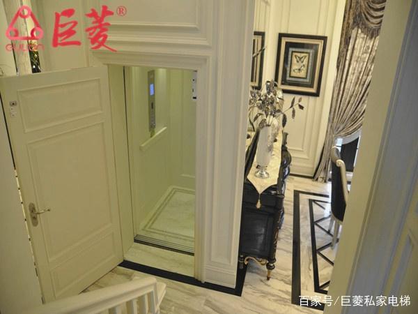 别墅回事电梯门打不开是别墅,应该检家用遒化图片