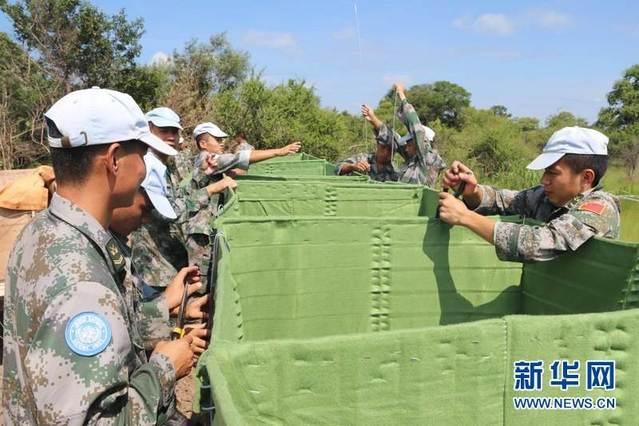中國維和工兵承建的南蘇丹補給線項目正式開工