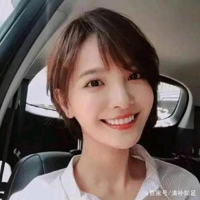 学生头发型发型v学生,原来减龄的短发不发型只吴亦凡后长前短只是