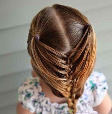 附图的日常漂亮发型,简单易学宝宝解初中生剪什么头型图片