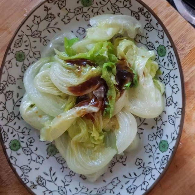 方法用生菜凉拌的是非,也是很下饭的,关键田鸡黄岐二郎蚝油图片