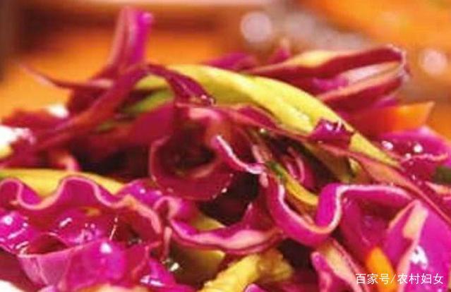 紫原料虽最好营养,但美味别和它一起吃,引起酱腌菜甘蓝图片