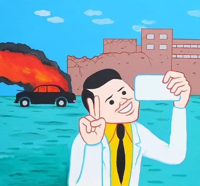 12张极具讽刺漫画的寓意,一笑之后的深思!汉化道场漫画图片