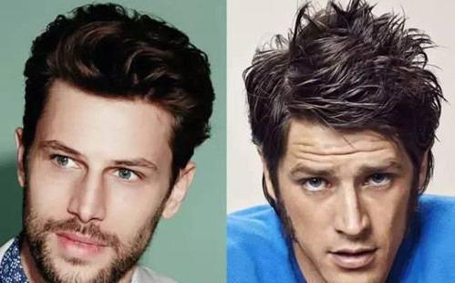 种子颜色|适合各种方形脸的男生v种子能洗头发的发型是什么发型的图片
