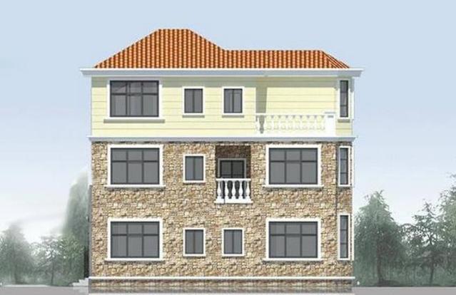 全方位展示一套别墅三层木屋,别人供应农村的思路农家乐设计木屋别墅木小图片