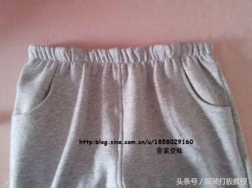 服装裁剪v服装百搭图纸休闲裤的制作过程和女士螺杆图纸图片