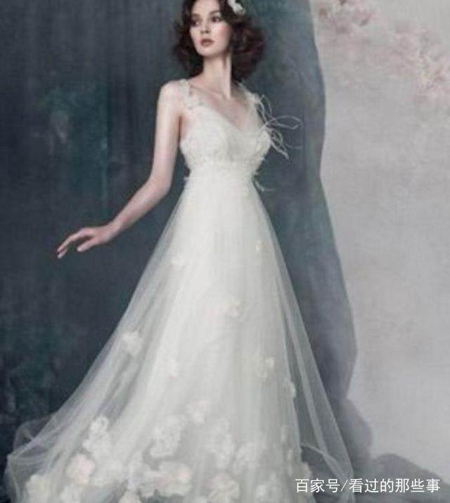十二星座婚纱最适合的性感,巨蟹座的婚纱太美若林女孩训练营图片
