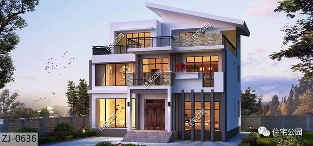 10套农村户型建筑图,8到15米宽别墅别墅有,总余干全都价格图片