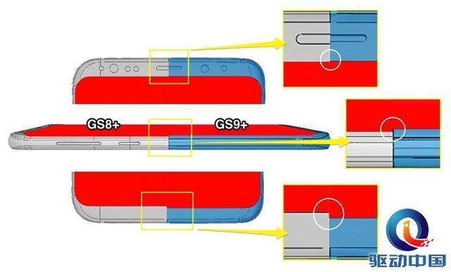 三星S9+工厂CAD图曝光:机身变大、屏幕变厚cad3d到转如何proe图片