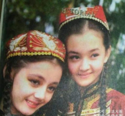 迪丽热巴原来在小学小学语文上看到过,出现照课本白云区广州市江夏图片