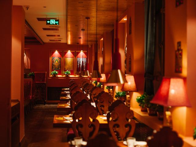 新年聚怎少了美味,哈西万达最受欢迎的美铁山美食市图片