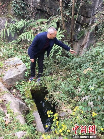 湖北長陽:鑿山引甘泉 「石頭村」安全飲水全覆蓋