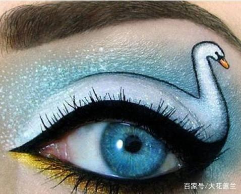 十二星座专属创意眼妆,狮子座很完美,双鱼座很喜欢天秤座男同事图片