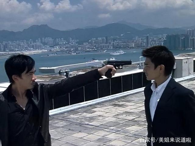 《无间道》:天台上刘建明一句话,就已经决定了图片包表情淘宝的图片