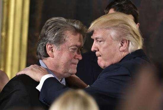 他將再撬動白宮、撬動特朗普?班農遭通俄門特檢傳喚作證