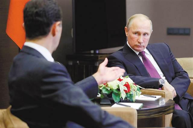 普京稱:敘利亞應轉入和談