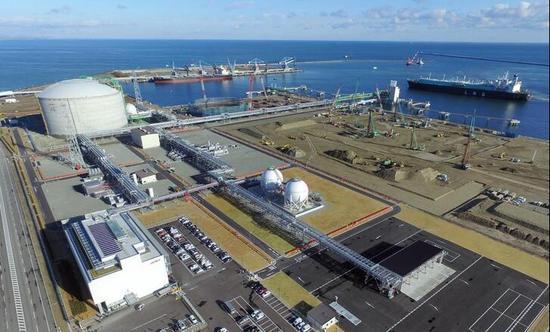 日本最大級別液化天然氣基地公開 每天可供給200萬戶家庭