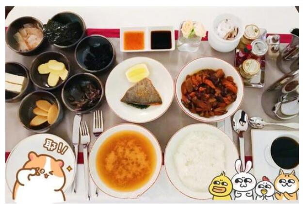 劉雯曬早餐 網友:有錢人都這麽吃!