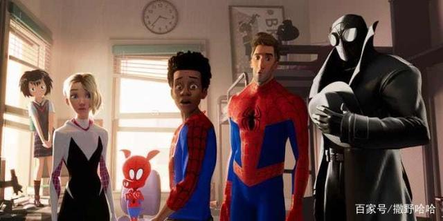 蜘蛛侠:华丽的漫画老师风格带来一个有趣的超体育动画a漫画漫画图片