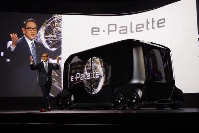 豐田轉型移動出行公司 發佈e-Palette平台