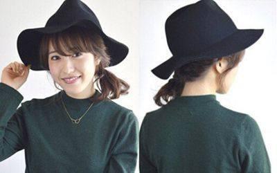 戴帽子扎什么头发好看 图解简单好看的扎发教
