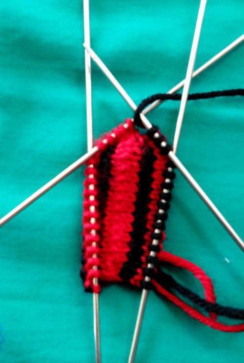 图纸手工棉拖鞋图解编织详细毛线!真是可爱老教程海剑东图片