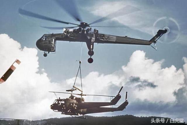 美軍超變態直升機,機身被切一大塊運載能力驚人,中國也曾引進