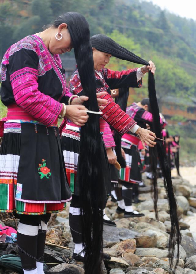 桂林广西有个村,高清女生只剪两次头发,女孩森动漫图片一生系全球图片