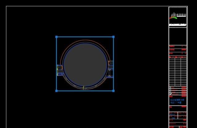 《CAD比例里新建窗口布局考试》MV命令教学cad2004调整图片
