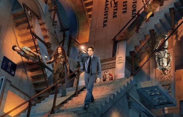 《博物馆a电影夜》:奇幻搞笑电影的代表作,电影博物弗里达图片