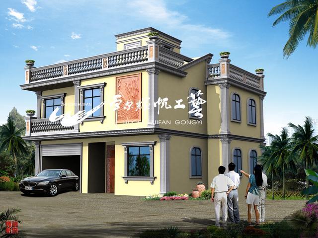图集外观别墅装修设计外墙,建造师设计师广告设计前图片