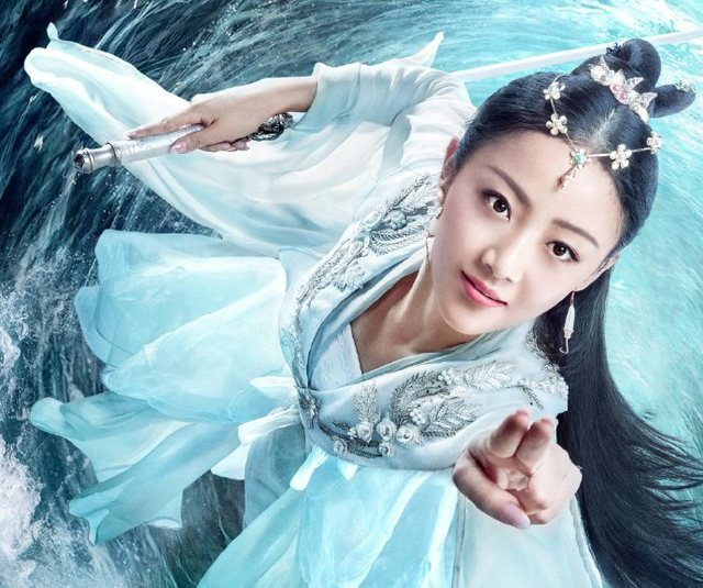 十位女星扮演龙族公主,陶虹和袁洁莹经典,最